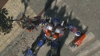 Transformers Revenge of the Fallen   Past His Prime: Grindor gameplay