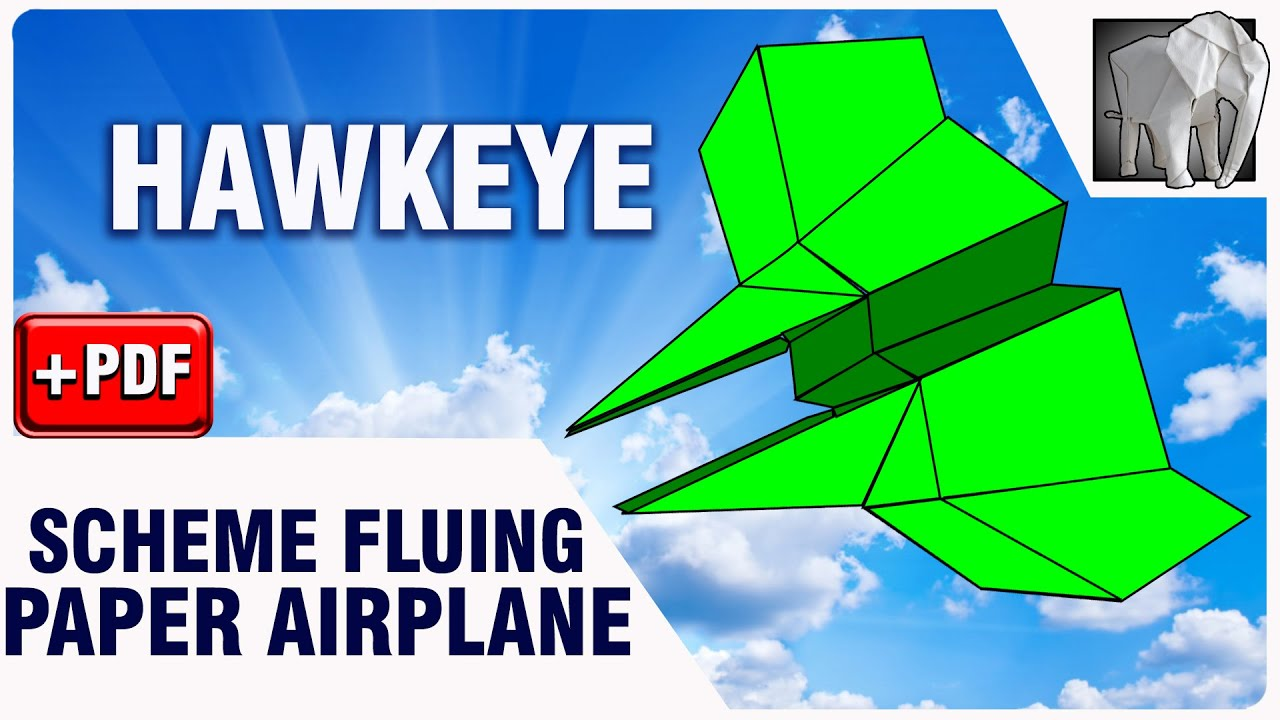 Paper Plane Flying Diagram Pdf Hawkeye Youtube Airplane Diagrams