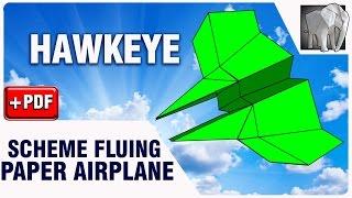 Paper plane flying Diagram (PDF)  | HAWKEYE