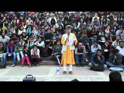 JNU Professor complete lecture on Nationalism and Kashmir