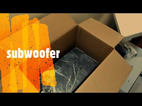 Philips MMS2625B 2.1 CH Bluetooth Multimedia Speakers UNBOXING