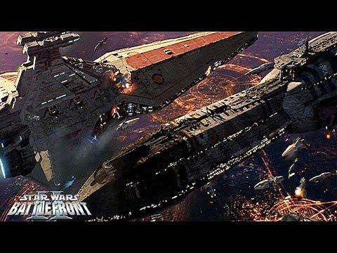 Star Wars Battlefront 2 Mods: HUGE Battle Over Coruscant Mod!!!