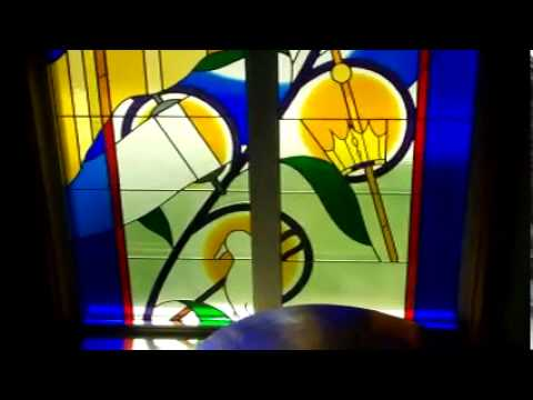 Edie Martin church stained glass
