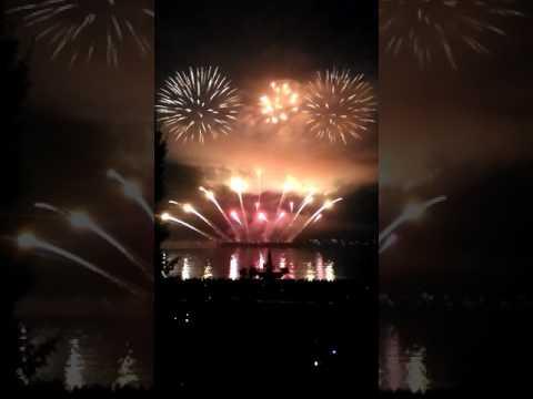 Fin du direct du feu de Jubilee Fireworks à Vancouver