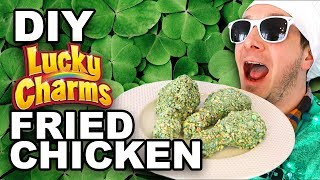 DIY Lucky Charms Fried Chicken - Man Vs Din