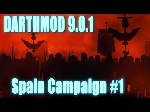 Rome Total War Darth Mod - Spain Campaign #1