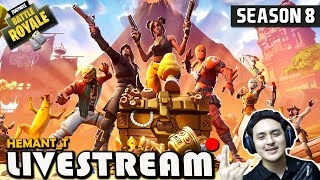 "FORTNITE (Hindi) SEASON 8 ""Free Battle Pass"" PS4 Pro (HT_T Live)"