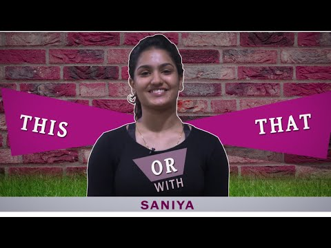 Fun Choices Revealed | This Or That With Saniya Iyappan | Mazhavil Manorama