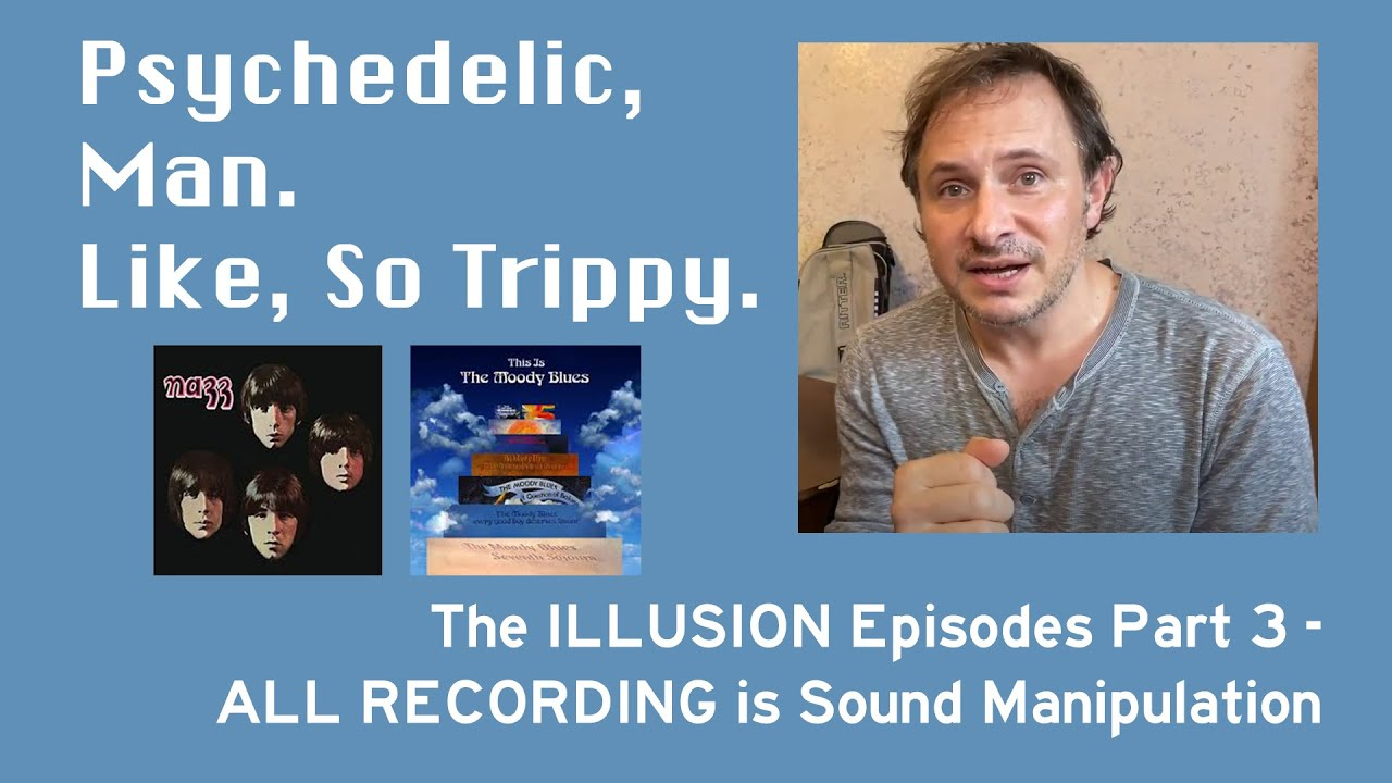 Talkin' SOUND MANIPULATION in the recording studio - awesome!