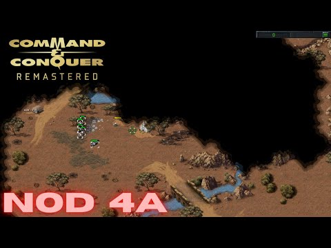 Command & Conquer Remastered - NOD Mission 4A - CONVOY INTERCEPTION (Hard)  
