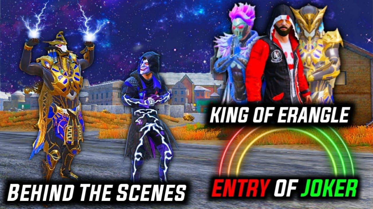 King of Pubg | Pubg movie ke behind the scenes | Glock Gaming Live