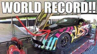 I CAN'T BELIEVE My Car Made THIS Much Power...**WORLD RECORD HP**