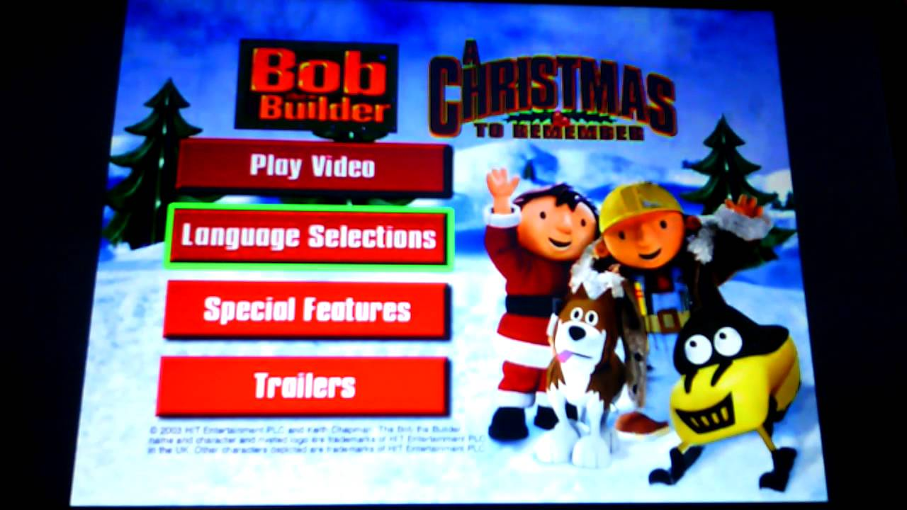 bob the builder a christmas to remember youtube - A Christmas To Remember