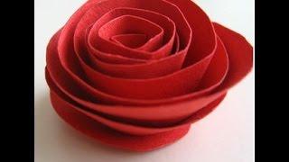 Download Video Cara Membuat Origami Bunga Mawar Dengan Mudah - IniCaraku MP3 3GP MP4