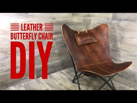 Leather Butteryfly Chair DIY