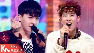 "[MASHUP] Block B × WINNER ""One Way (일방적이야) × DON'T FLIRT (끼부…"