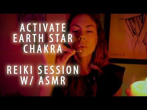 Activate Earth Star Chakra, Reiki Session, ASMR
