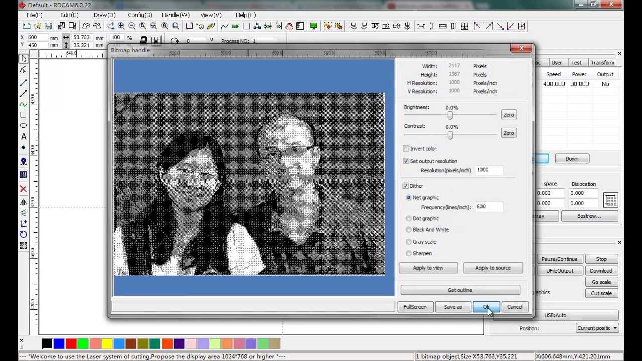 Prepare Photos For Laser Engraving With Laserwork Software