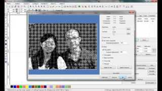 prepare photos for laser engraving with laserwork software, laser photo engraving tutorial