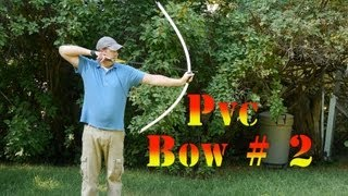 How to Make a 60 lb PVC longbow #2