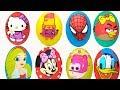 25 Dev Sürpriz yumurta açıyoruz canlı yayında Shopkins Maşa Disney Harika Kanatlar sürpriz yumurta