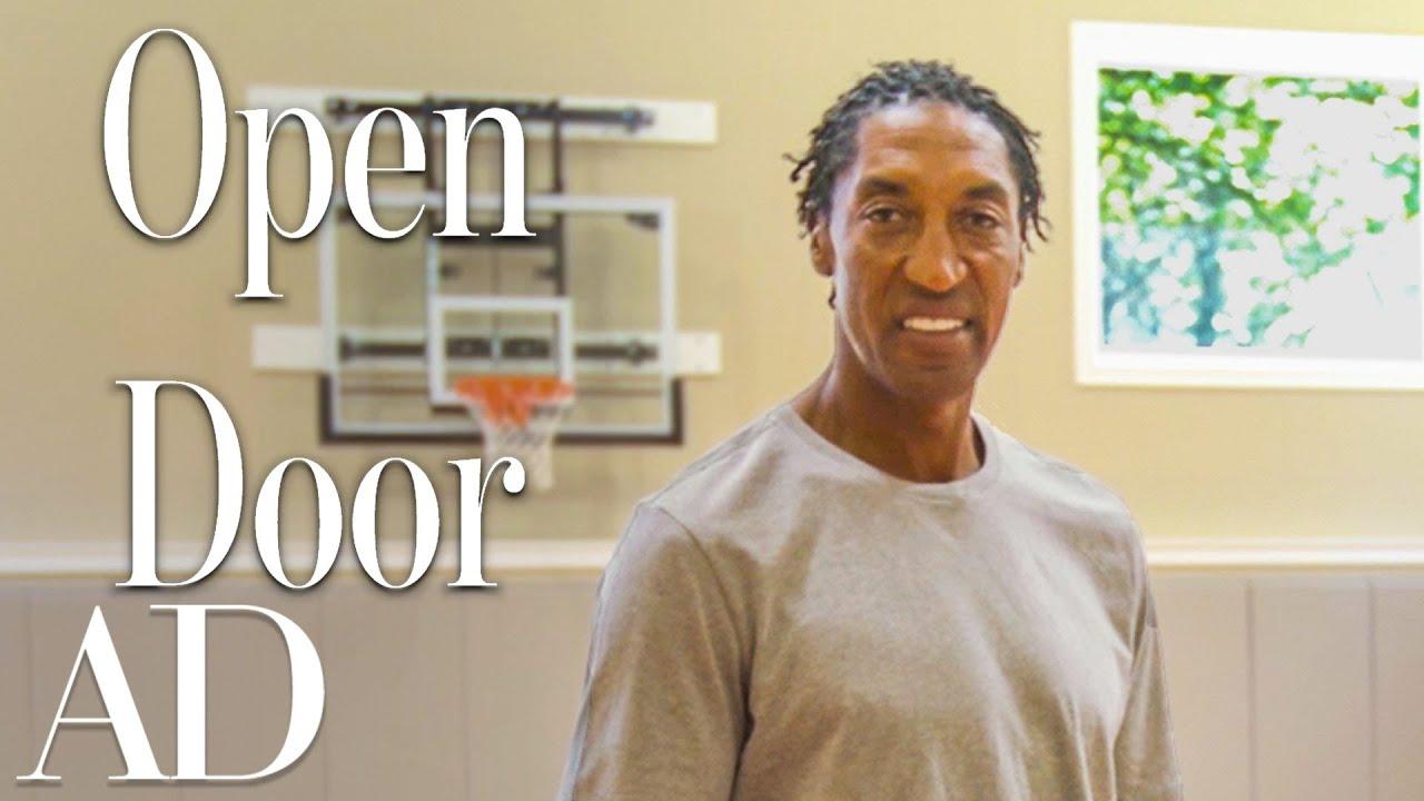 Download Inside Scottie Pippen's Chicago Mansion With An Indoor Court | Open Door | Architectural Digest