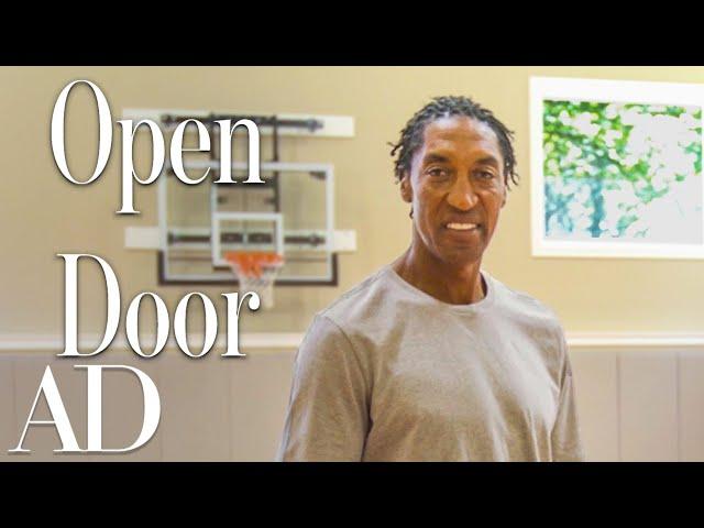 Inside Scottie Pippen\'s Chicago Mansion With An Indoor Court | Open Door | Architectural Digest