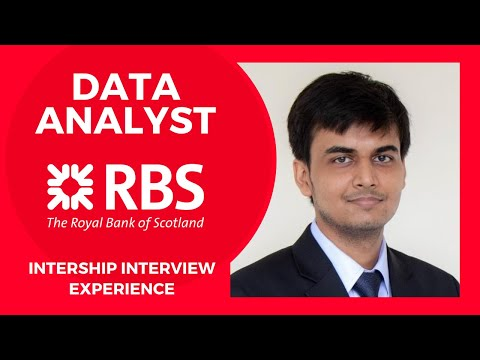 Internship at RBS | Data Analyst Interview Question & Answers | DoMS IIT Roorkee