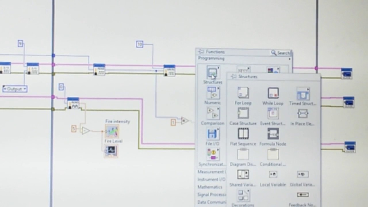 Fire Alarm System using LabView and Arduino (Arabic) - YouTube