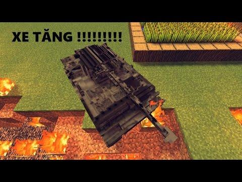 Cách Lấy XE TĂNG Trong Minecraft !!!! (1 Command) No Mods 1.8 (Không 1.9)