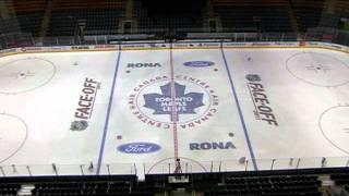 Behind-the-scenes at Air Canada Centre