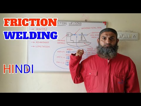 FRICTION WELDING || WELDING ALL TIPS ||