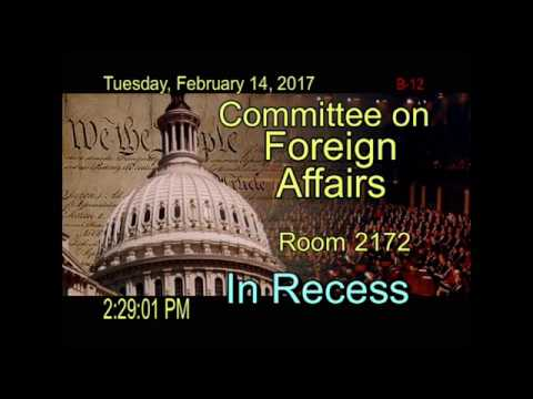 Hassan testimony before House Foreign Affairs Committee