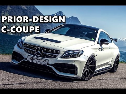 prior design mercedes c class coupe looks awesome youtube. Black Bedroom Furniture Sets. Home Design Ideas