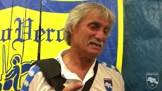 91° #ChievoVeronaPescara 1-0, Mister Pillon