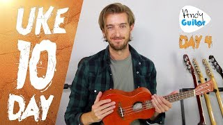 Ukulele Lesson 4 - More Easy Songs for Ukulele - FREE 10 Day Starter Course