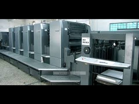 5 Colour Offset Printing Machine
