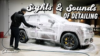 Satisfying Foam Wash - Jeep Trackhawk Exterior Auto Detailing