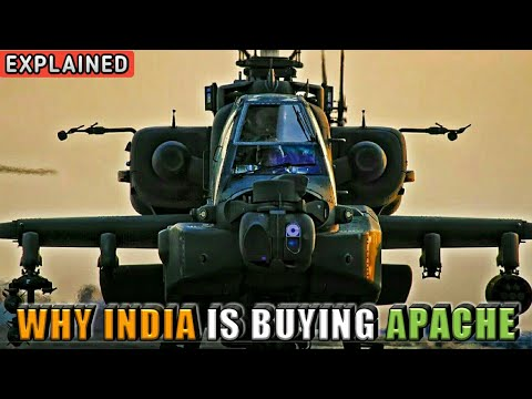 Why India Is Buying Apache Helicopters? Apache Helicopter India - Explained (Hindi)