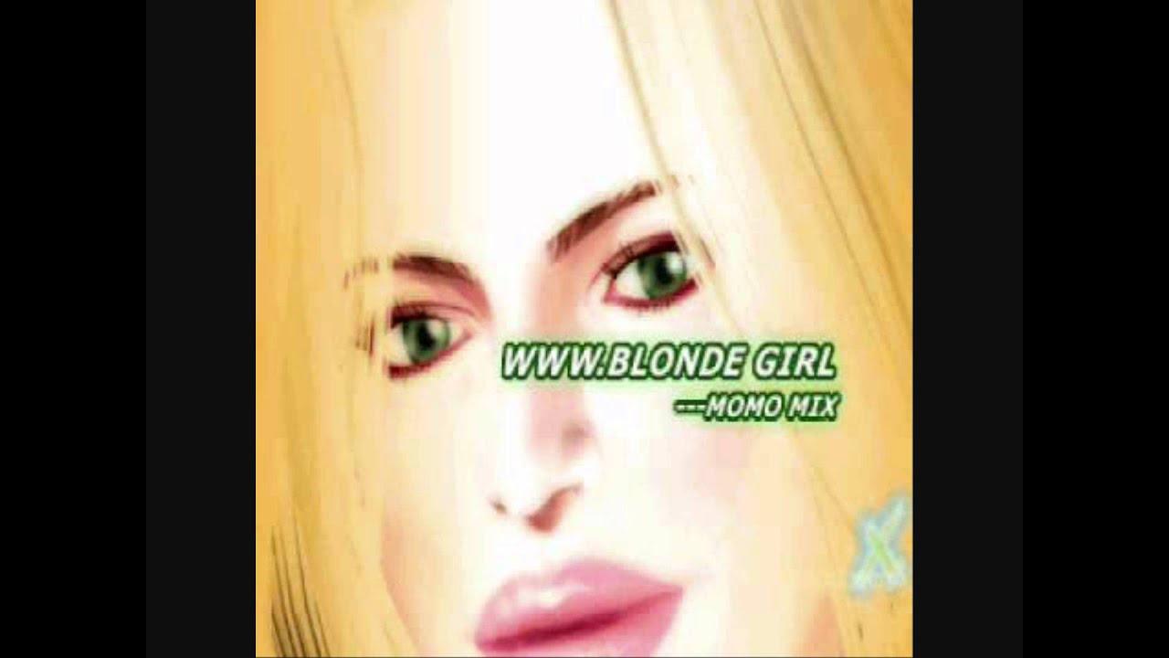 Girls www blonde girl momo mix sophisties