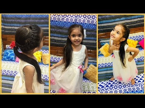3 Simple & Cute Hairstyles For Medium Long Hair || Kaur Sisters thumbnail