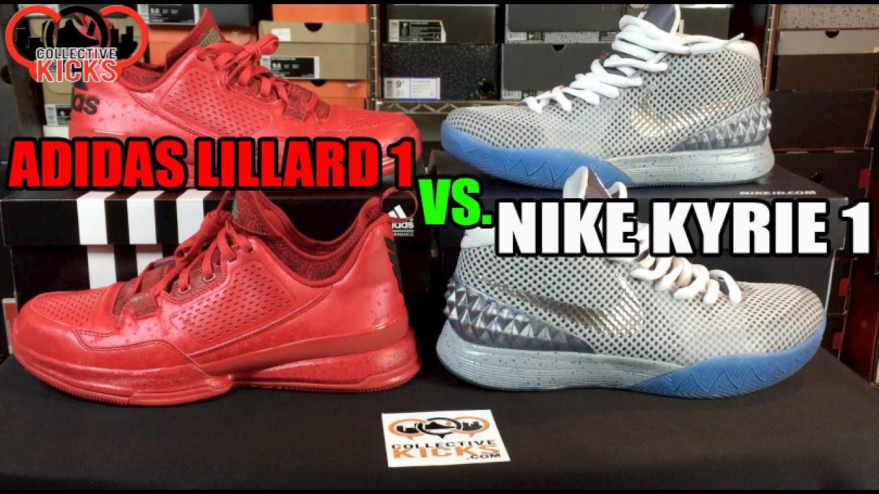 Che Cosa È Vs Meglio: Adidas Lillard 1 Vs È Nike Kyrie 1?('I Miei Pensieri df7670