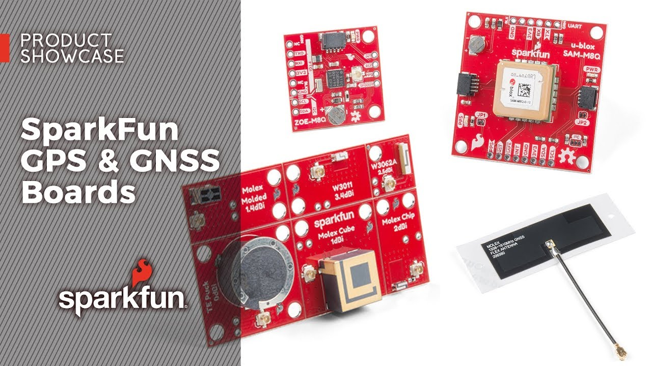 Product Showcase: SparkFun GPS & GNSS Boards