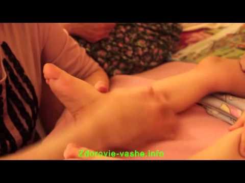 Массаж при бронхите у детей: видео, виды, когда применять