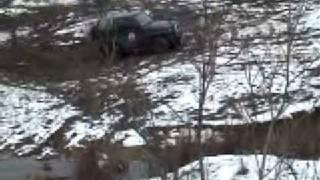 Daihatsu Feroza in mud