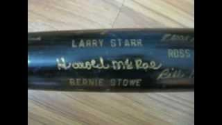 1972 CINCINNATI REDS PRESENTATION BASEBALL BAT