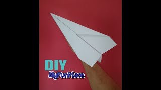 how to make a long distance paper airplane youtube