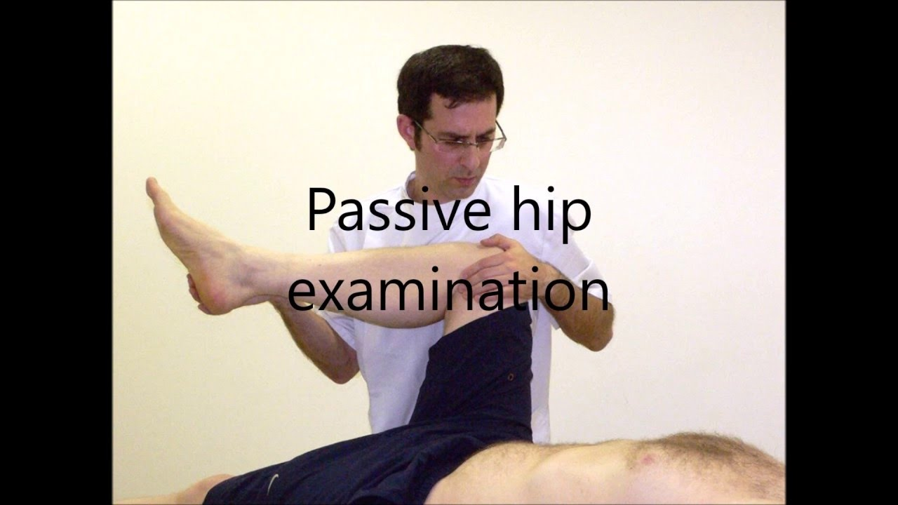 Passive Hip Examination