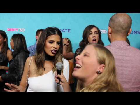 Laura Lee Interview at Dirty 30 Movie Premiere