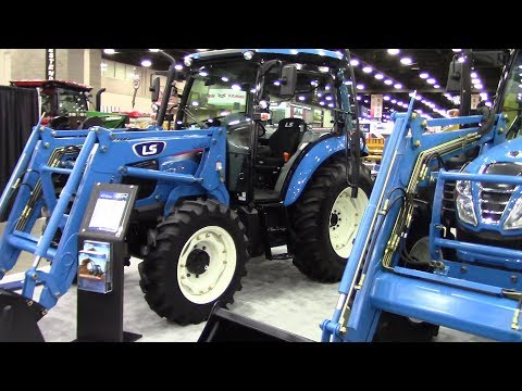 2018 National Farm Machinery Show LS Tractor MT5 73